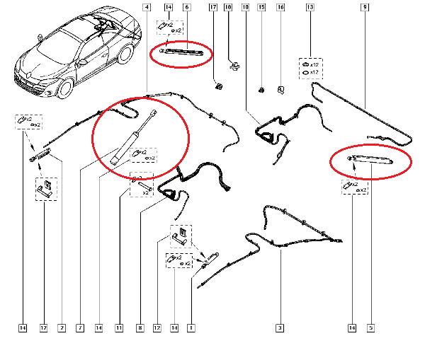 Renault Megane Coupe Engine Diagram
